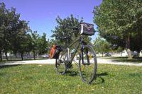 Trekking bike front