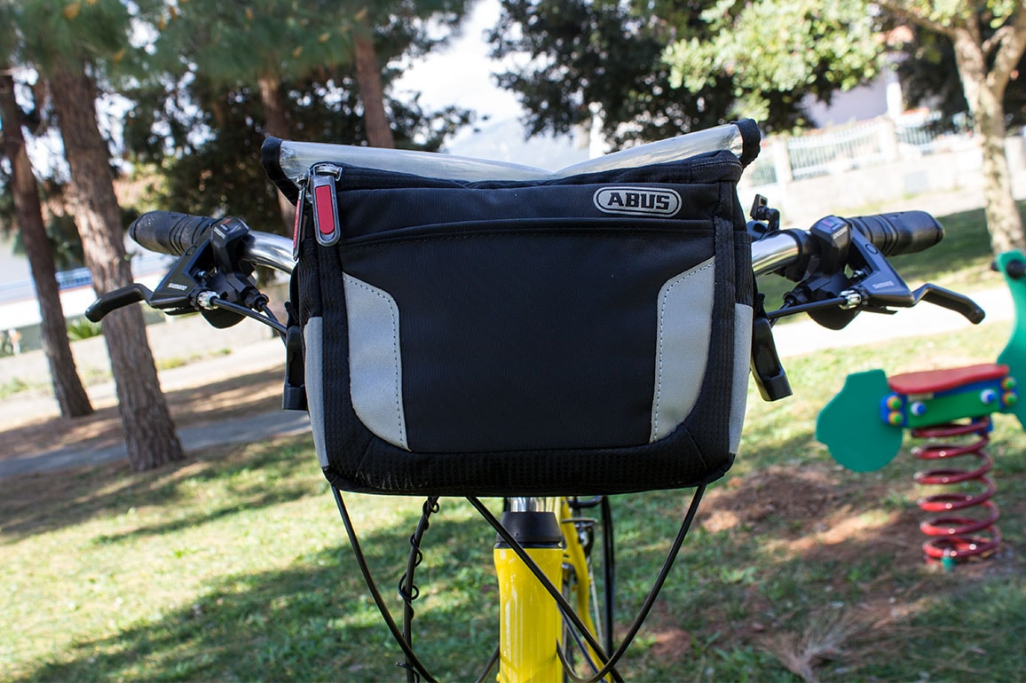 Abus handlebar bags upon request for rental