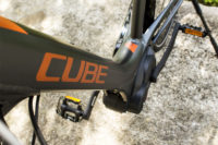 Cube e-bike for rental: CUBE frame