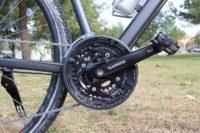 Deragliatore shimano su tutte le bici a noleggio