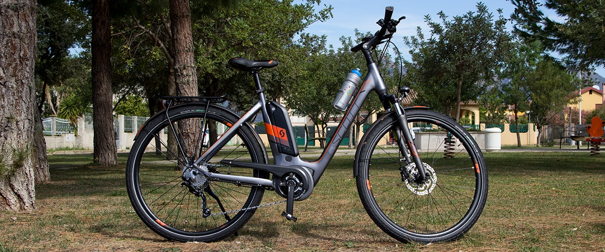 new e-bike scott for rental