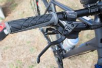 Shimano Deore gearshift levers and brakes