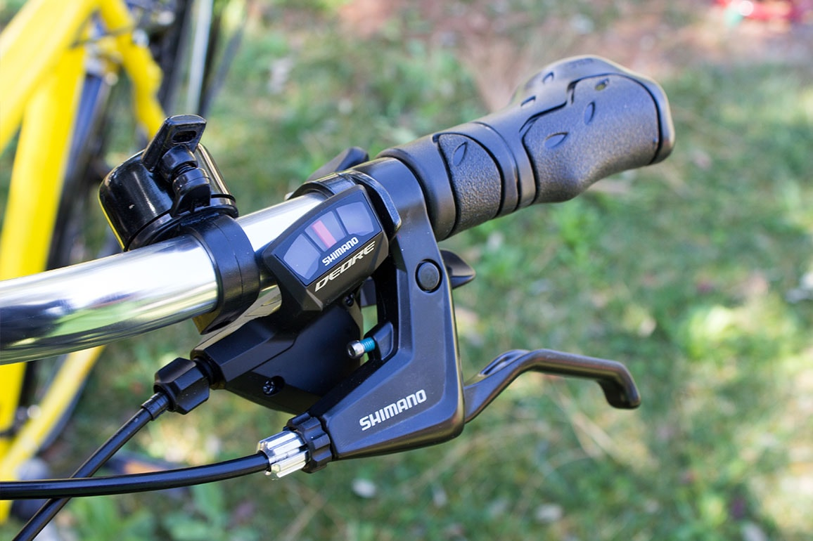 shimano Deore gearbox and brake levers