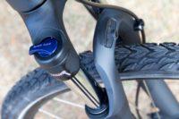 Bicicletta Trekking con sospensioni anteriori