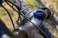 bike fork: SR Suntour NEX HLO, 63mm