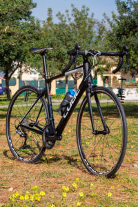CUBE road bikes for rental in Sardinia