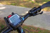 E bike display: Bosch Intuvia