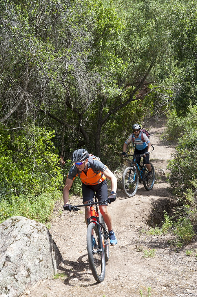 Escursione in mountain bike guidata a Pula